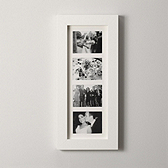 Chunky Wide Wooden Frame 4 Aperture 5x7