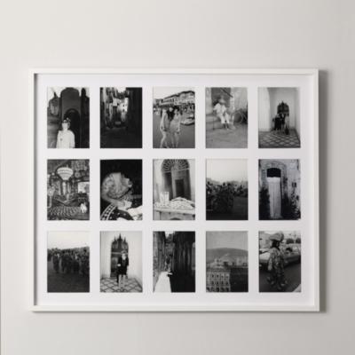 Image of 15 Aperture Fine Wood Memories Photo Frame