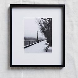 Black Fine Wood Photo Frame 8x10''
