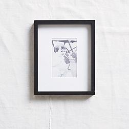 Black Fine Wood Photo Frame 4x6''