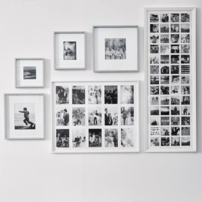 "Fine Wooden Frame 4x6"" - Gray"