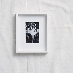 White Fine Wood Photo Frame 4x6''