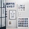 White Wooden Frame 9 App (W/Acetate)