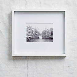 White Fine Wood Photo Frame 5x7''