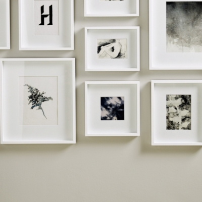 picture gallery large wall photo frame set photo frames the white company uk. Black Bedroom Furniture Sets. Home Design Ideas