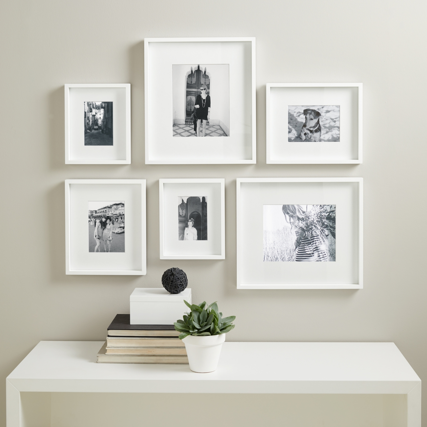 Gallery Wall Frame Set picture gallery wall frame set small | frames | home & bath | the