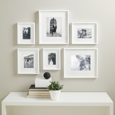 Superb White Frame Set Part - 14: Picture Gallery Small Wall Photo Frame Set | Photo Frames | The White  Company UK