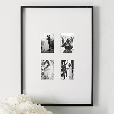 White Photo Frame Wedding Pictures - The White Company