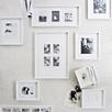White Wooden Poster / Multi Aperture Frame 4