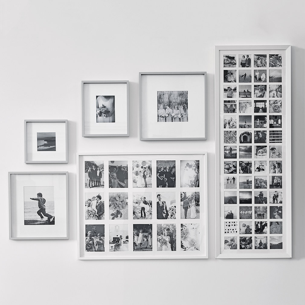 5x5 White Picture Frame Gallery - origami instructions easy for kids