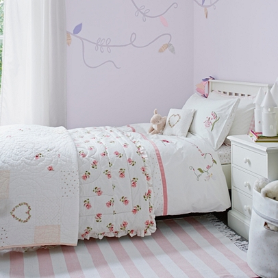 Woodland Fairy Quilt | Little White Company Home | The White ... : fairy quilt cover - Adamdwight.com