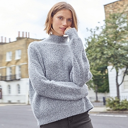 Wool-Rich Tiny Sequin Jumper