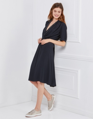 Wrap Tea Dress