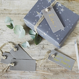 Star Gift Tags - Set of 10