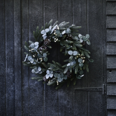 Fir and Snowberry Wreath