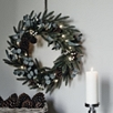 Fir and Snowberry Hanging Wreath
