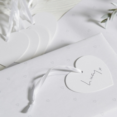 Heart Gift Tags - Set of 12