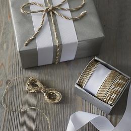 Kraft Ribbon Box - Set of 4