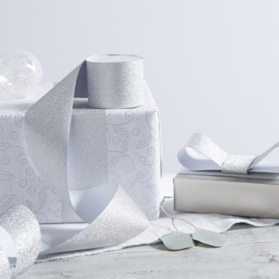 Glitter Paper Ribbon - 10m