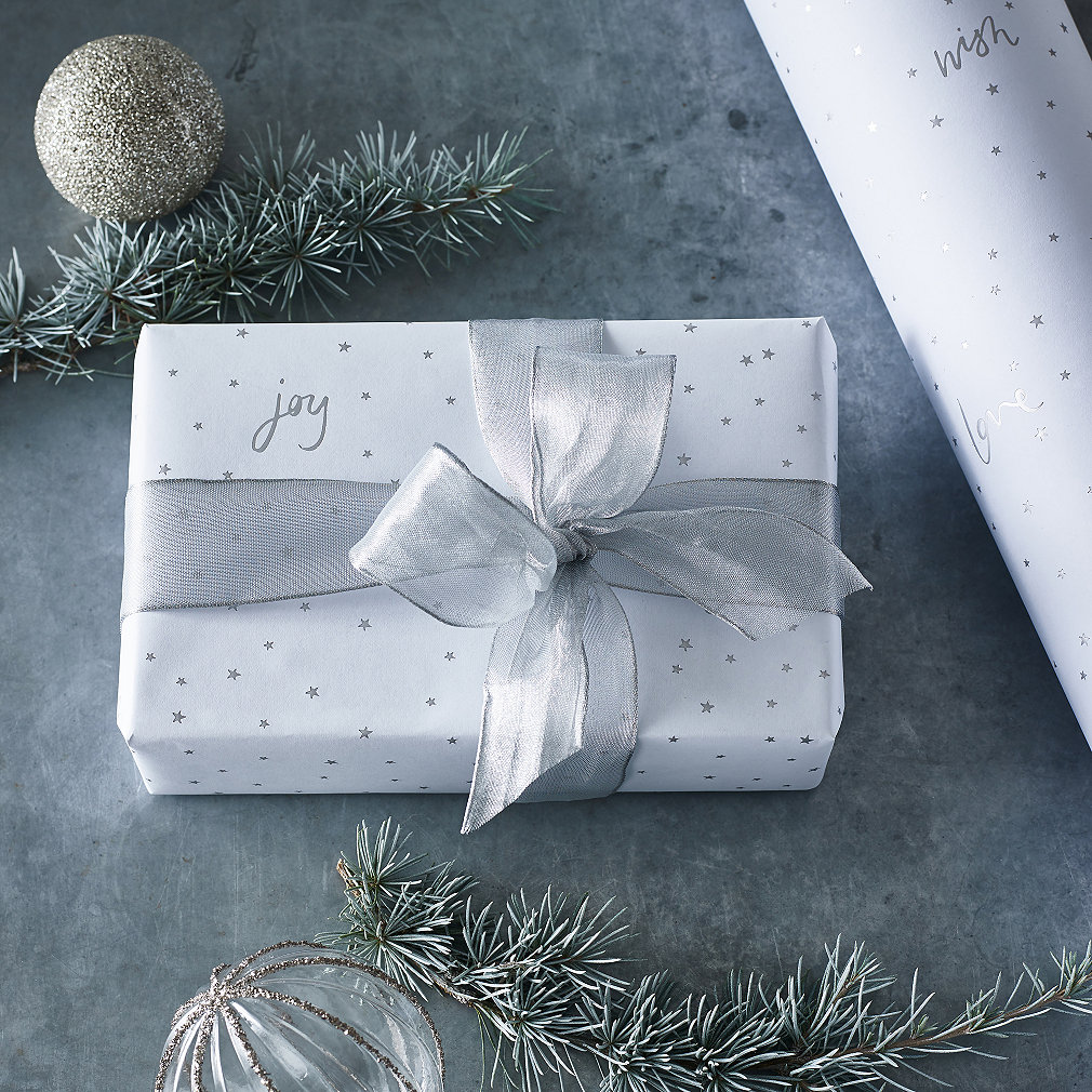 Wired Ribbon - 5m | Wrapping Accessories | The White Company UK