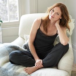 Lace Detail Pajama Set