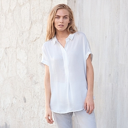 Satin Washed Shirt
