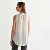 Deep V Neck Sleeveless Top