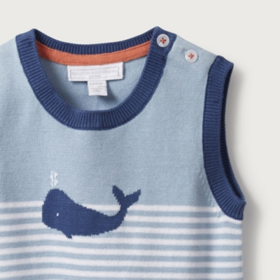 Whale Stripe Tank Top