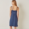Woven Trim Night Gown