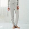 Pretty Dot Pajama Pants - Cloud Marl