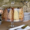 Lidded Glass Cake Stand