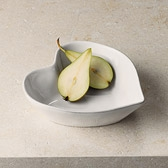 Buy Stoneware Heart Serving Bowl from The White Company
