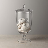 Buy Bon Bon Glass Jar - Large from The White Company
