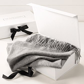Buy Plain Cashmere Throw from The White Company