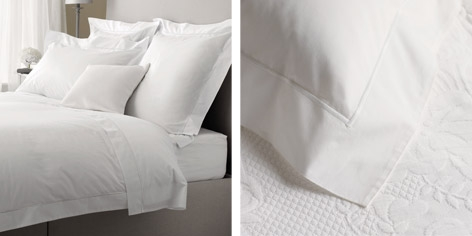 Buy Single Row Cord Bed Linen Collection from The White Company