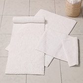 Buy Vermont Bath Mat - White from The White Company