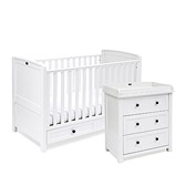 Buy Silver Cross Nostalgia Cot Bed & Dresser from The White Company