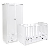 Buy Silver Cross Nostalgia Cot Bed & Wardrobe from The White Company