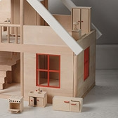Buy Wooden Dolls House from The White Company