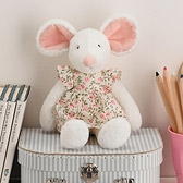 Buy Pattie Mouse in Floral Dress from The White Company
