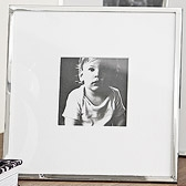 Buy Fine Silver Photo Frame 3x3 from The White Company