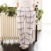 Oversized Check PJ Bottoms