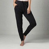 Cashmere Trousers - Dark Charcoal Marl