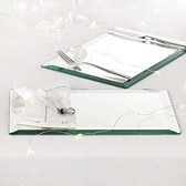 Art Deco Mirrored Placemats - set of 2