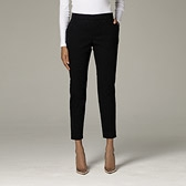 Jacquard Trousers - Black