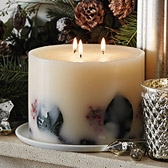 Pine Cone Botanical Candle - Large
