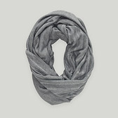 Reversible Sparkle Snood - Grey