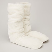 Sherpa Slipper Socks - Alabaster