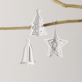 Cut-Out Paper Decorations - Small