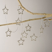 Beaded Star Garland